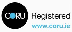 coru registered logo